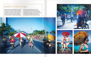 Registro da Revista Velô com fotos de Bruno Lisboa.