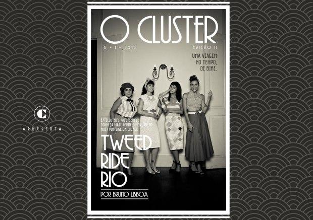 Capa do Editorial de MODA - O Cluster