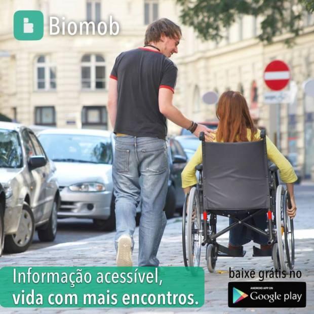 Biomob fornece informações de acessibilidade para todos