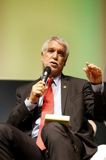 Enrique Peñalosa, ex-prefeito de Bogotá.