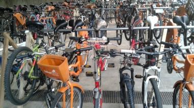 Um mar de bikes!!